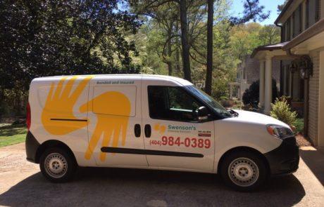 Cleaning Van